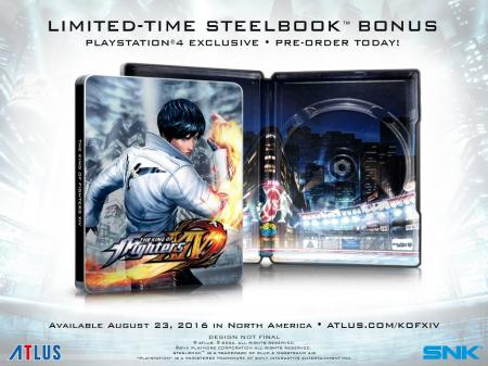 The King of Fighters XIV: SteelBook Launch Edition  | Gamers Paradise