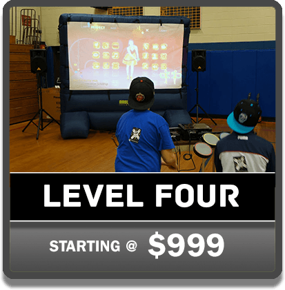 Level 4 GP on the Go Video Game Parties | Gamers Paradise