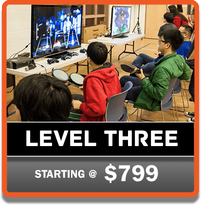 Level 3 GP on the Go Video Game Parties | Gamers Paradise