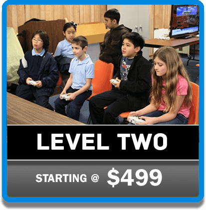 Level 2 GP on the Go Video Game Parties | Gamers Paradise