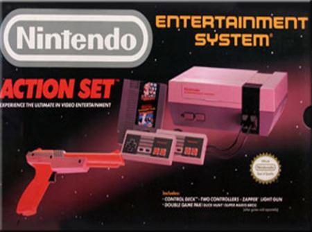 NES Console - Action Set