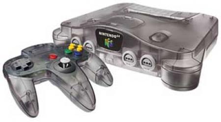 Nintendo 64 Console - Smoke