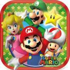 Super Mario Brothers Square Dessert Plates, 7
