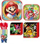 Super Mario Bros Party Bundle for 8 Guests