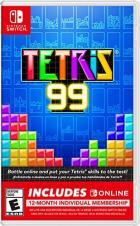Tetris 99 + 12 Month Nintendo Switch Online Membership