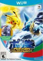 Pokken Tournament with Shadow Mewtwo Amiibo Card