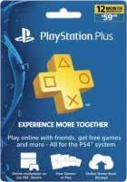 PS Plus 12-Month Live Subscription Card