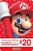 Nintendo $20 Card